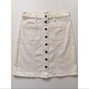 J Crew Button Down Skirt